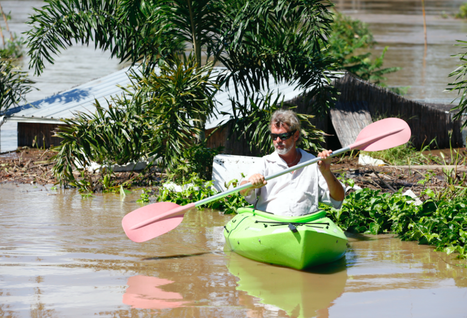 Authorities have warned residents to stay away from floodwaters. Photo: AAP