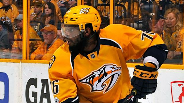 P.K. Subban isn't letting the Penguins' two wins in the Stanley Cup Final get him down. In fact, he guaranteed victory in Game 3.