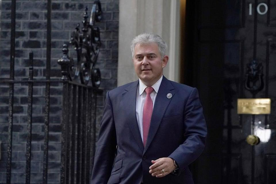 Brandon Lewis has been accused of 'exceeding his legal authority' (Victoria Jones/PA) (PA Wire)