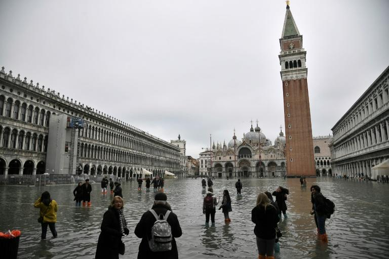 Venice is one fo the places most recently hit by flooding