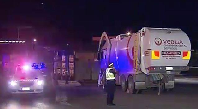 The woman was killed outside the fast food outlet on the corner of Penneys Hill and Main South Roads. Photo: 7 News