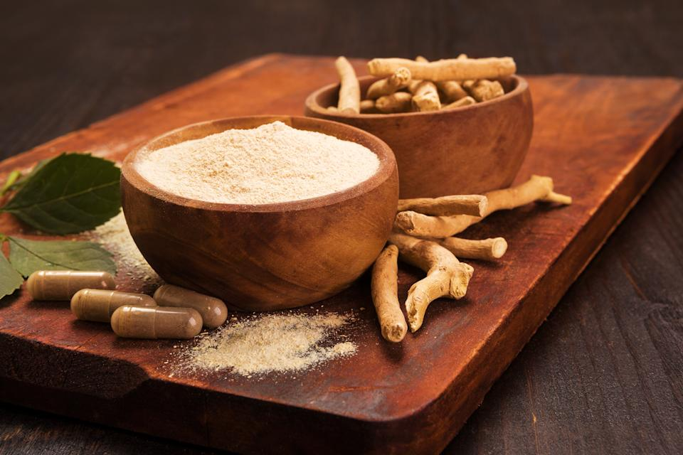 Known to be amongst the most powerful herbal medicines in Ayurveda, Ashwagandha, also called Indian ginseng, has been used for centuries as a stress and anxiety reliever. The herb has gained even more popularity during the pandemic as studies have shown that it contains a natural compound called Withanone which has the potential to block the activity of Mprotease (MPro), a type of protein which is responsible for the replication of the virus. <br><br>The recommended dosage of Ashwagandha to get its benefits is around 500-600 gms per day. However, pregnant women should avoid consuming the herb as it could induce premature labour. Further, the herb could increase the thyroid function, and hence should be taken only with medical consultation if you are on thyroid hormone medication.