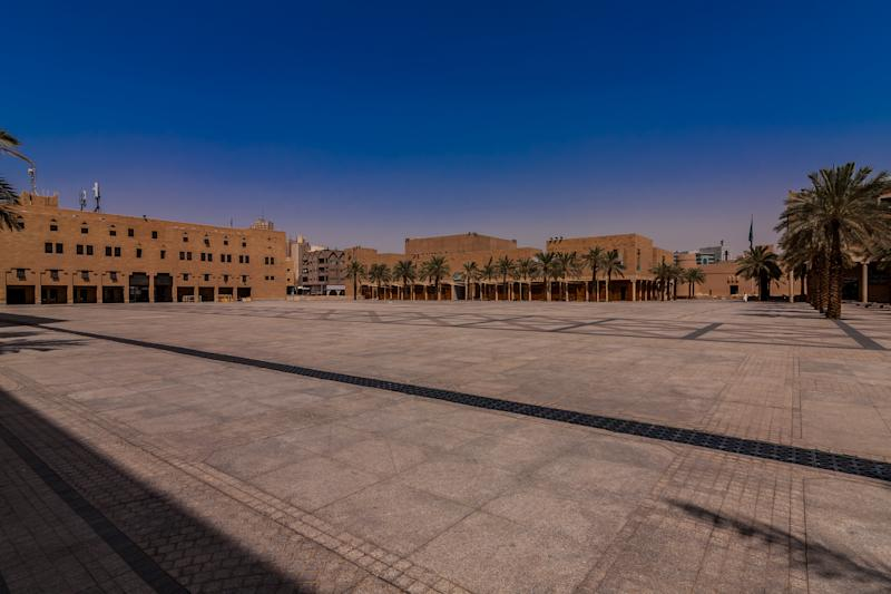 The square where public executions are performed.