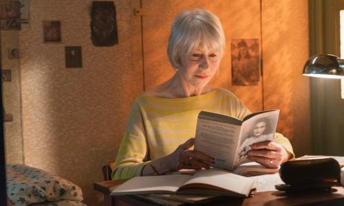 Helen Mirren 'profoundly moved' by reconstruction of Anne Frank's room