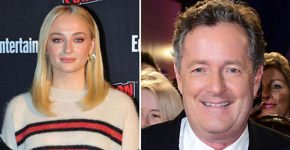 Sophie Turner has slammed Morgan for his opinions on mental health. (PA Images)