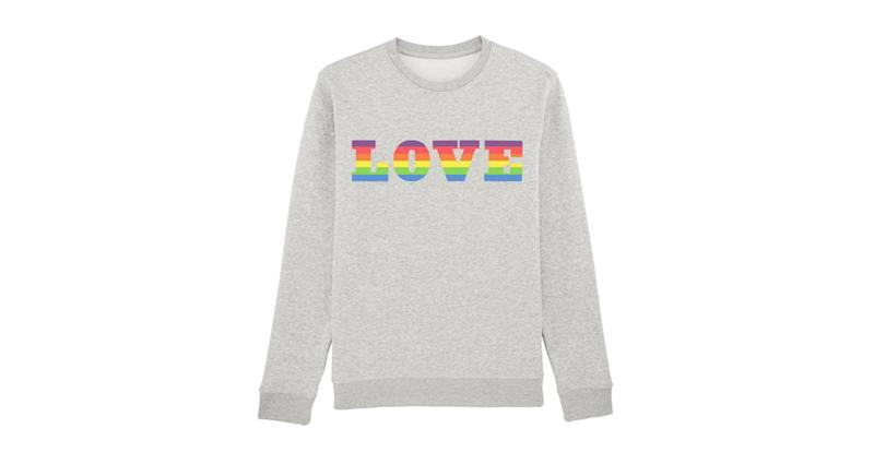 Dandy Star Love Rainbow Sweatshirt Adult |