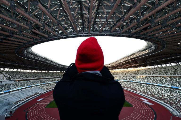 The National Stadium is the main venue for the Tokyo Olympics