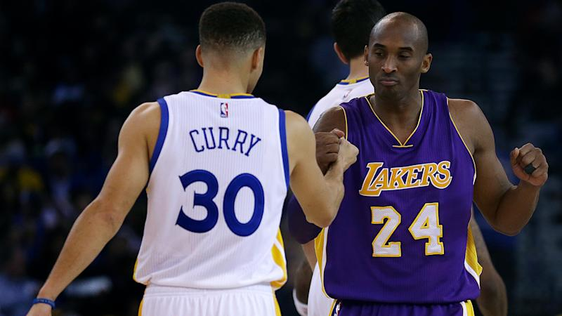 finest selection 1d000 05082 Steph Curry relives time he made 3-pointer in Kobe Bryant's ...