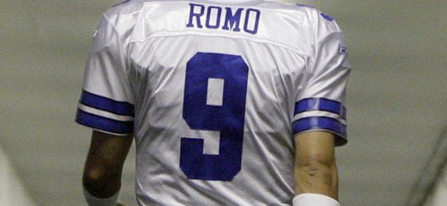 A man wants to wear his Tony Romo jersey at his double murder trial in Las Vegas. (AP)
