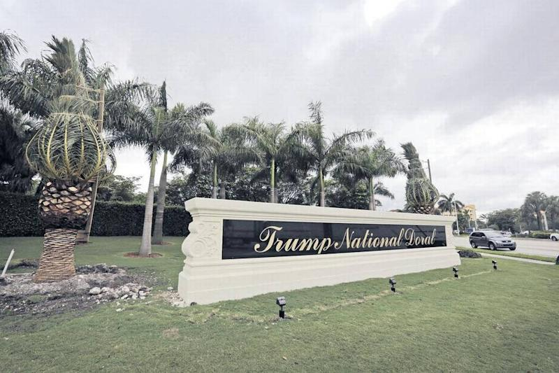 Part of President Trump's tiny tax bill: Big losses at his golf resort in Doral
