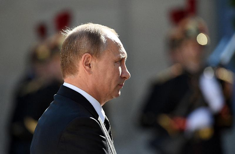 With the Syrian campaign Russian President Vladimir Putin has come back in the limelight of international politics after having been snubbed by the West for the annexation of Crimea from Ukraine in March 2014 (AFP Photo/Stephane de Sakutin)