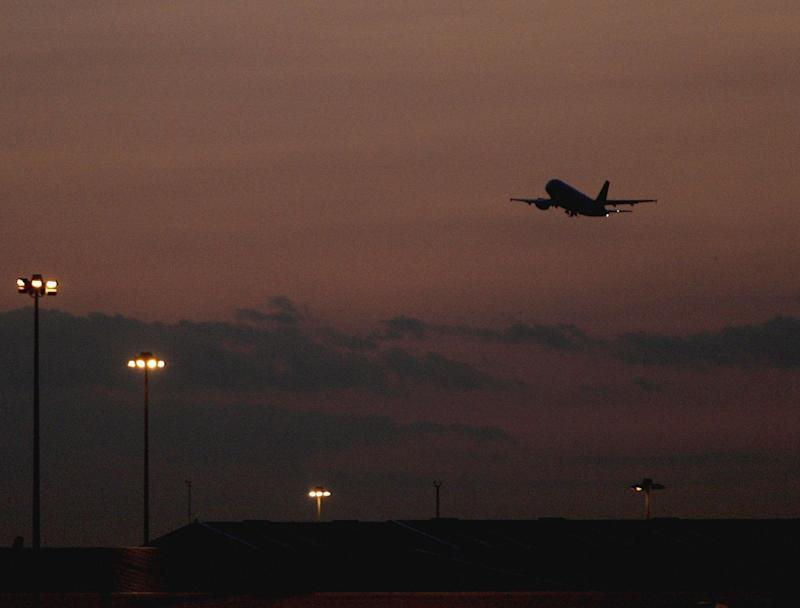 Charter flights usually leave from Stansted airport very late at night or extremely early in the morning: Getty Images