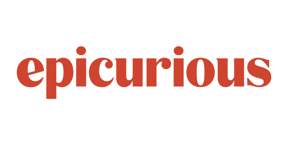 This image shows the logo for Epicurious, a resource site for home cooks. Since July, Epicurious has been scouring 55 years' worth of recipes from a variety of Conde Nast magazines. They're looking for objectionable titles, ingredient lists and stories told through a white American lens. The so-called Archive Repair Project at the resource site for home cooks is just a tiny effort on a full plate of promised initiatives. (Epicurious via AP)