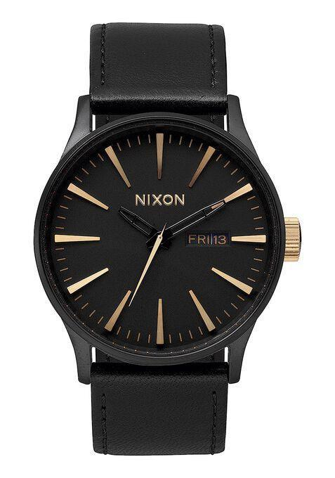 """<p><strong>Nixon</strong></p><p>nixon.com</p><p><strong>$165.00</strong></p><p><a href=""""https://go.redirectingat.com?id=74968X1596630&url=https%3A%2F%2Fwww.nixon.com%2Fus%2Fen%2Fsentry-leather%2FA105-1041-00.html&sref=https%3A%2F%2Fwww.seventeen.com%2Flove%2Fdating-advice%2Fg30107520%2Fone-year-anniversary-gifts-for-him-boyfriend%2F"""" rel=""""nofollow noopener"""" target=""""_blank"""" data-ylk=""""slk:Shop Now"""" class=""""link rapid-noclick-resp"""">Shop Now</a></p><p>Step up your man's style game with this gorgeous classic watch. This baby goes with everything and it will make your bae look hella sophisticated. </p>"""