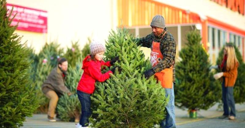 home depot wants to grab a bigger chunk of black friday shoppers spending - Is Home Depot Open On Christmas Eve