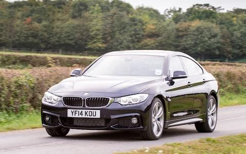 BMW 4-series Gran Coupe, driving