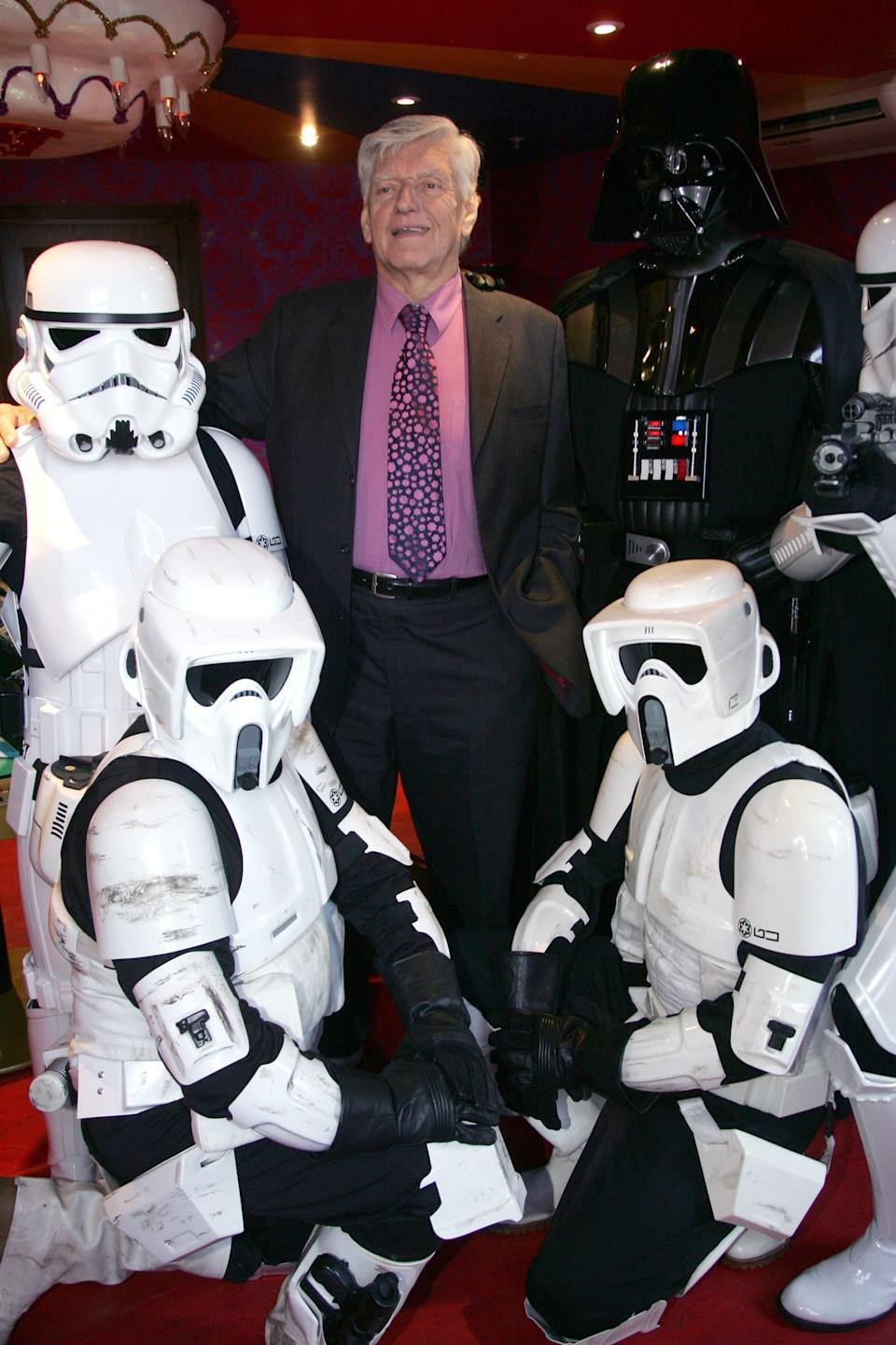 Dave Prowse pictured in 2008 (Photo: Julian Makey/Shutterstock)