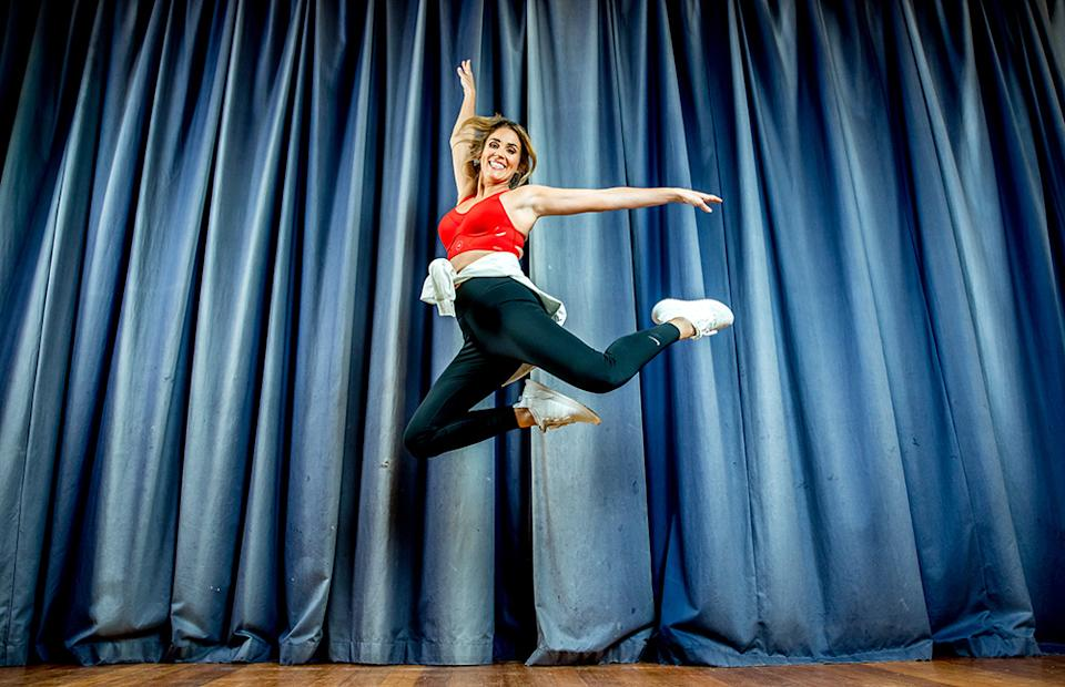Georgia, who danced as a child, has recently gotten back into her childhood hobby and is trying to encourage Aussies to do so as well. Photo: Supplied