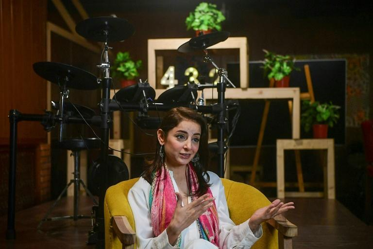 """Series star Sarwat Gillani told AFP her country was """"living in denial"""" by avoiding taboo topics"""