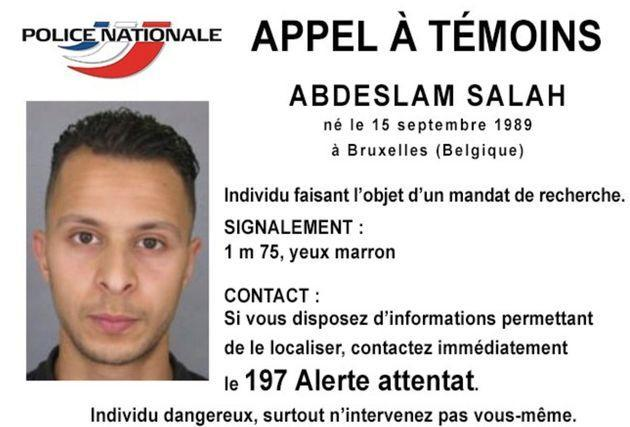 FILE - This undated file photo released Friday, Nov. 13, 2015, by French Police shows 26-year old Salah Abdeslam, who is wanted by police in connection with recent terror attacks in Paris, as police investigations continue. On Nov. 13, 2015, a cell of nine Islamic State militants armed with automatic rifles and explosive vests left a trail of dead and injured at the national stadium, Paris bars and restaurants and the Bataclan concert hall. Nearly all the attackers were from France or Belgium, as were the cell's 10th member — Salah Abdeslam, the only one still alive. He is the chief defendant among 20 people charged in a trial that is expected to last nine months. (Police Nationale via AP, File) (Photo: via Associated Press)