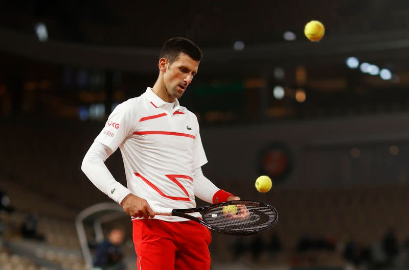 Djokovic wants line judges replaced by technology