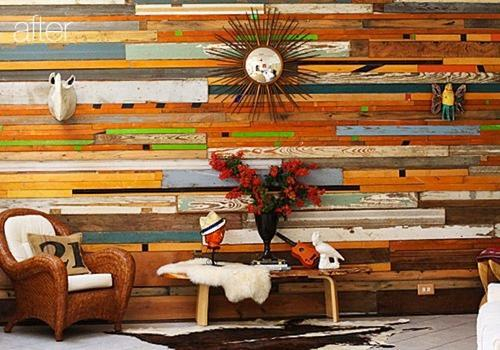 6 diy wood wall treatments