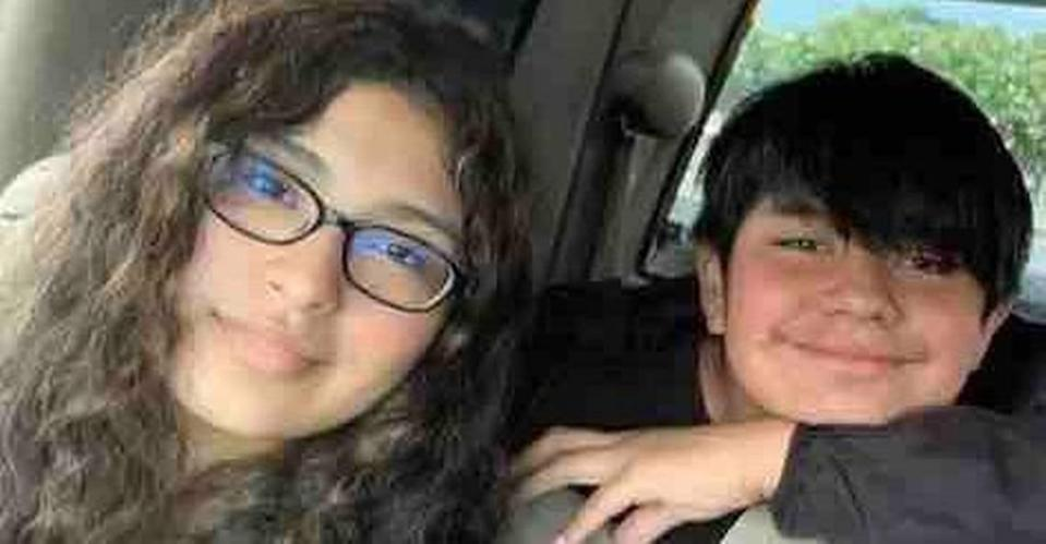 Alexandra Ruiz Diaz, 17, and her brother, Luis Miguel Geronimo Diaz, 11, were killed in a wreck involving at least two cars south of Monroe on Saturday night, Sept. 25, 2021.