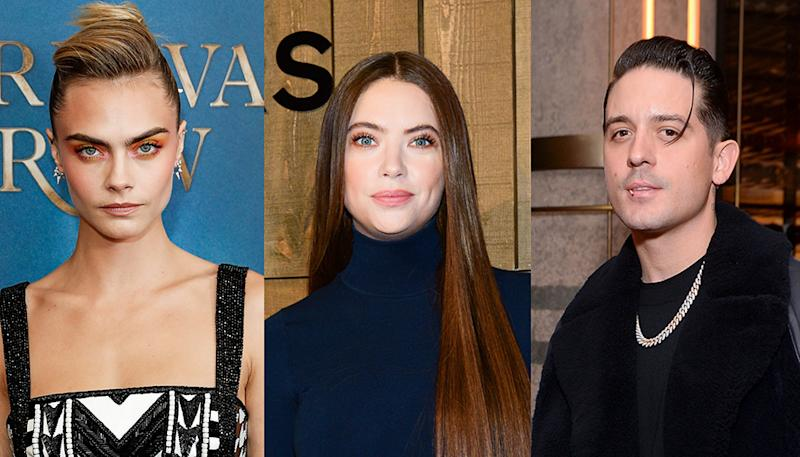 Cara Delevingne won't be trashing ex Ashley Benson over her seemingly moving on with G-Eazy. (Photos: Getty Images)