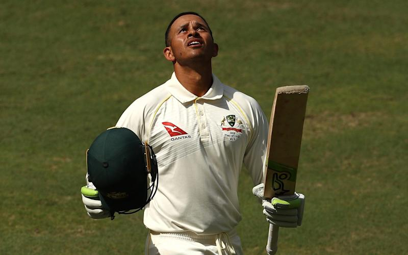 Usman Khawaja batted for eight-and-a-half hours to score 141 - Getty Images Europe
