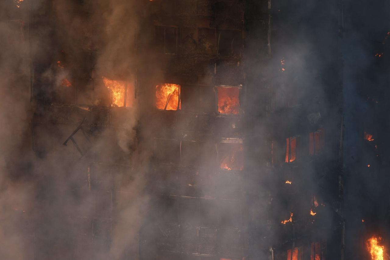 <p>Several people have been killed in the fire (SWNS) </p>