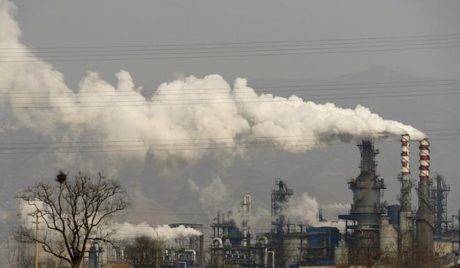 Coal is still the major source of energy in China despite efforts to diversify. Photo: AP