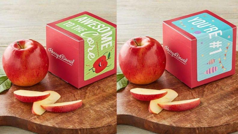 This is an interesting new way to present a simple, yet traditional gift.