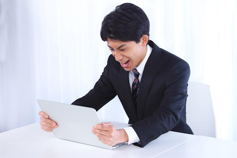 This is a photograph of asian businessman