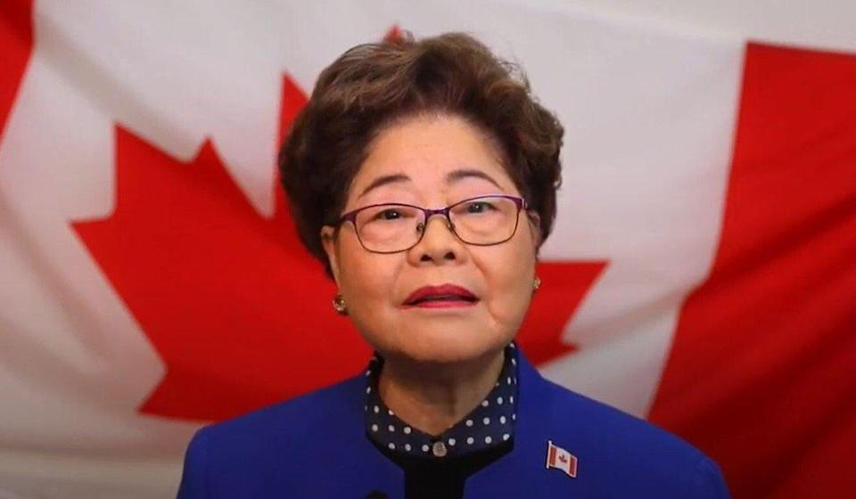 Conservative Canadian MP Alice Wong had represented Richmond Centre since 2008, but now faces a narrow defeat according to preliminary results in the 2021 election. Photo: Alice Wong/YouTube