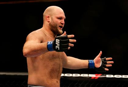 Ben Rothwell thinks Cain Velasquez could be using PEDs. (Photo by Kevin C. Cox/Getty Images)