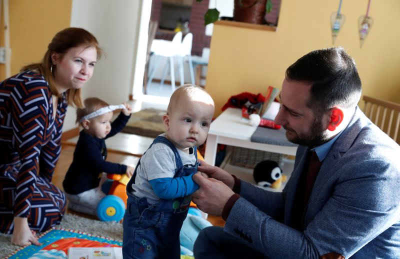 For Hungarian couple, prayers and science followed by gift of family