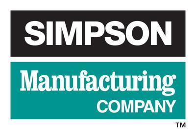 Simpson Manufacturing Co., Inc. Logo (PRNewsfoto/Simpson Manufacturing Co., Inc.)