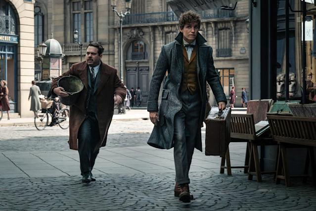 <p>When we last saw Jacob Kowalski (Dan Fogel), he was baking away, blissfully unaware of his role in the capture of Grindelwald. But with Grindelwald free and his friends in peril, Jacob has been pressed back into service by Newt.<br> (Photo: Jaap Buitendijk/Warner Bros.) </p>