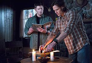 Jensen Ackles as Dean and Jared Padalecki  | Photo Credits: Jack Rowand/The CW