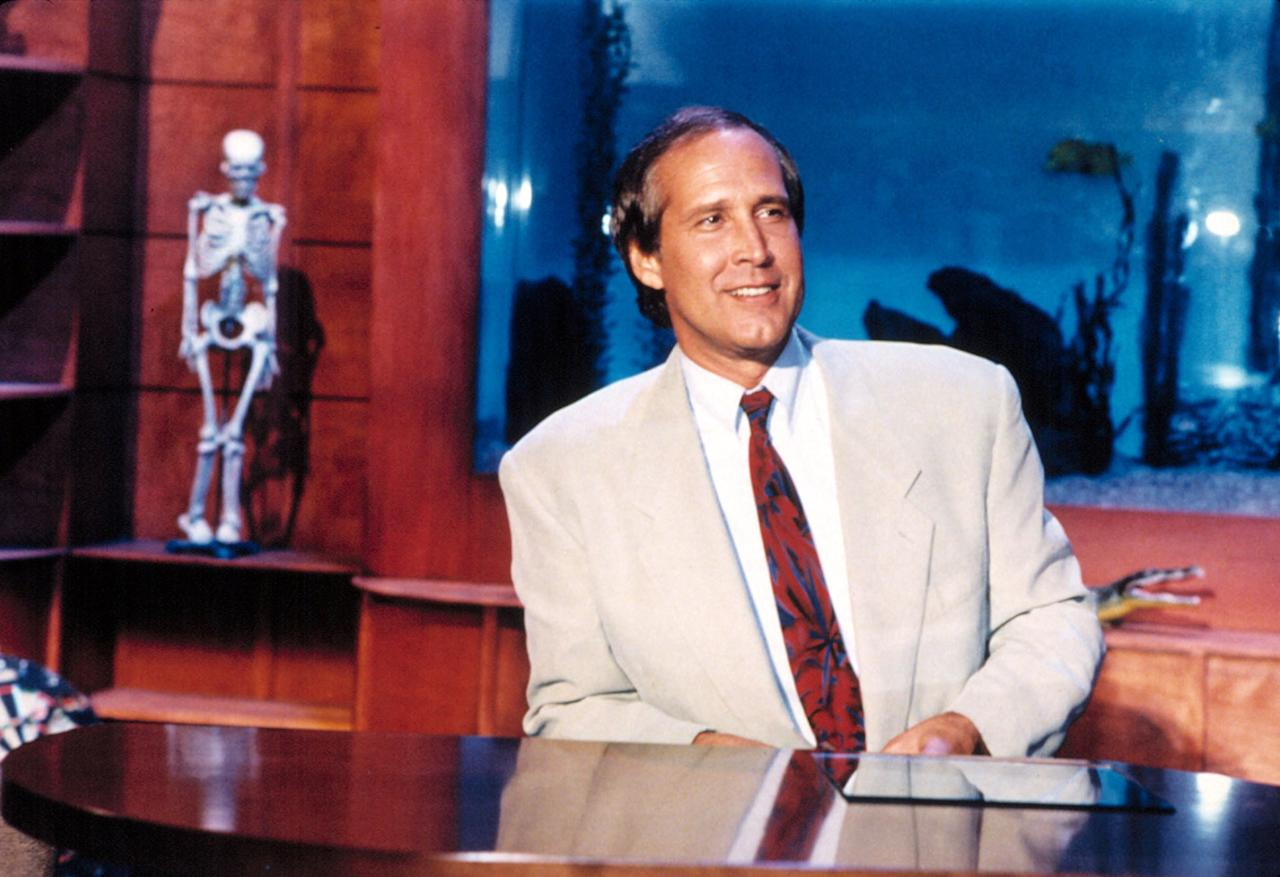 "Chevy Chase hosted ""The Chevy Chase Show"" in 1993."