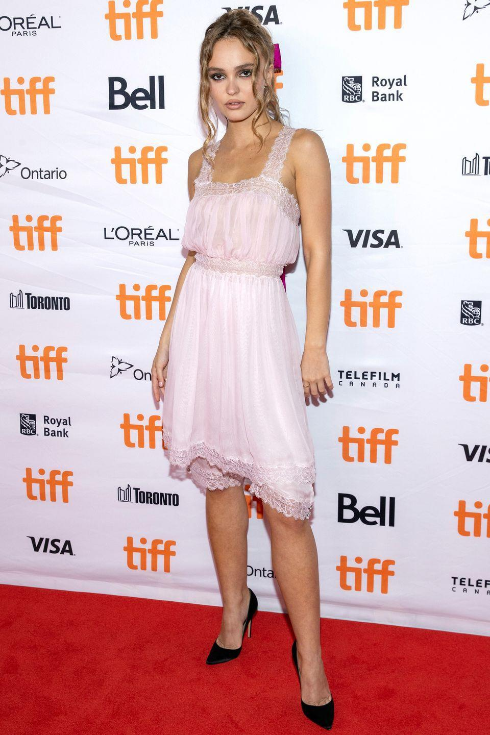 <p><strong>17 September</strong></p><p>Lily-Rose Depp attended the Toronto International Film Festival wearing Chanel. </p>