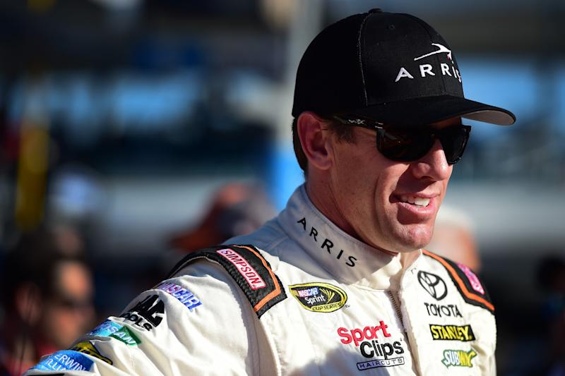 Carl Edwards won't be driving in the Cup Series in 2017. (Getty)