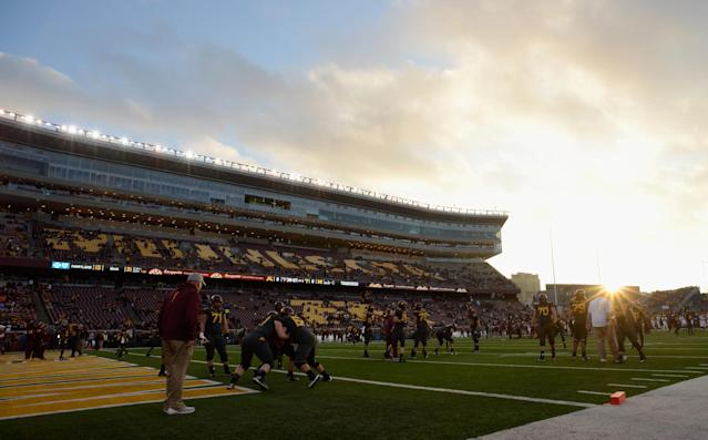 Four Minnesota players were cleared following a decision from a university panel but punishment was upheld for five others. (Getty)
