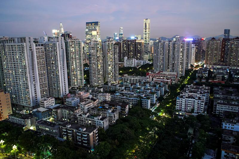 Resident buildings and offices are seen in Shenzhen, Guangdong Province, China, September 6, 2019. Picture taken September 6, 2019. REUTERS/Athit Perawongmetha
