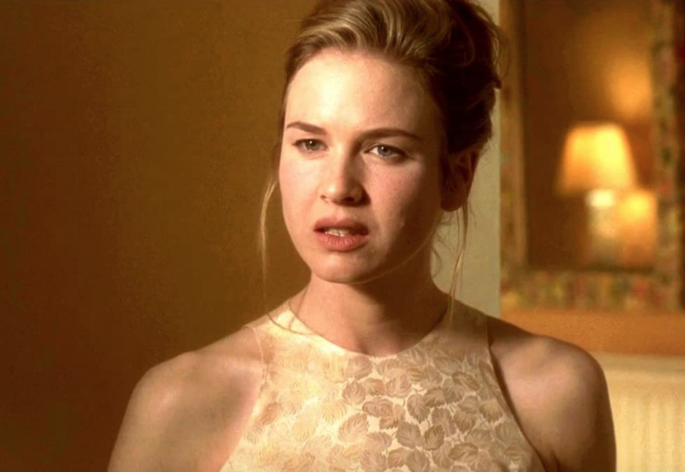 <p>Who wore their own version of Renée Zellweger's messy updo to every school dance in high school? Yep, same.</p>