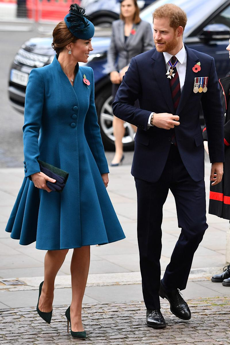 Kate and Harry.