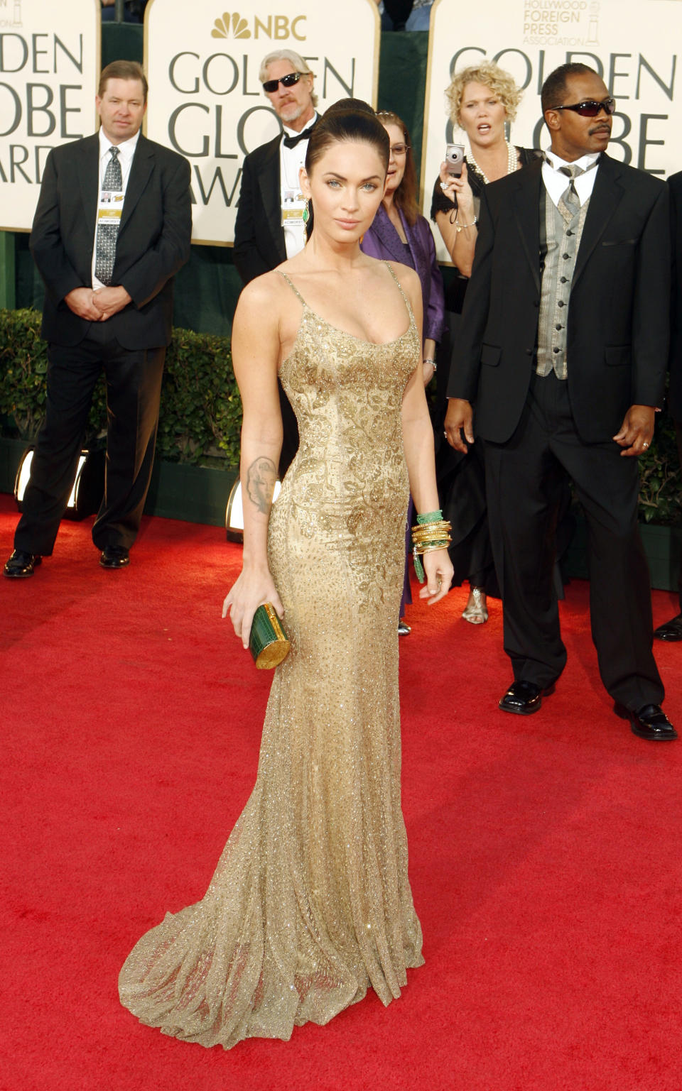 Actress Megan Fox arrives at the 66th annual Golden Globe awards in Beverly Hills, California January 11, 2009.     REUTERS/Lucas Jackson (UNITED STATES)