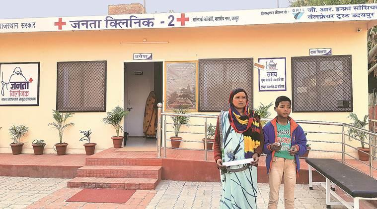 Rajasthan Healthcare, Healthcare reform, Rajasthan Healthcare services, Rajasthan Janata Clinic, neighbourhood clinics Rajasthan, Mohalla Clinics delhi, indian express