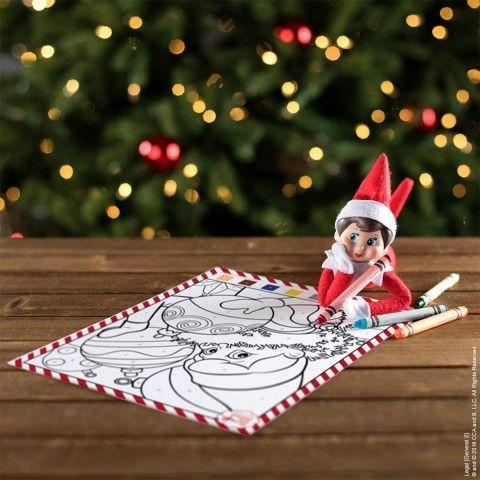 """<p>Set up your elf with some crayons and a coloring page, then the kids can finish the drawing!</p><p><strong>Get the tutorial at <a href=""""https://www.elfontheshelf.com/elf-ideas/by-the-numbers-coloring-fun"""" rel=""""nofollow noopener"""" target=""""_blank"""" data-ylk=""""slk:The Elf on the Shelf"""" class=""""link rapid-noclick-resp"""">The Elf on the Shelf</a>.</strong></p><p><a class=""""link rapid-noclick-resp"""" href=""""https://www.amazon.com/ELF-SHELF-COLORING-BOOK-Especially/dp/B08L64JZDP/ref=sr_1_2?tag=syn-yahoo-20&ascsubtag=%5Bartid%7C10050.g.22690552%5Bsrc%7Cyahoo-us"""" rel=""""nofollow noopener"""" target=""""_blank"""" data-ylk=""""slk:SHOP COLORING BOOKS"""">SHOP COLORING BOOKS</a></p>"""