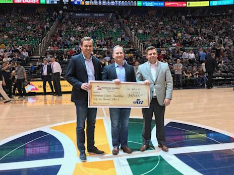 Mountain America Credit Union Donates a Record $64,500 to Huntsman Cancer Foundation